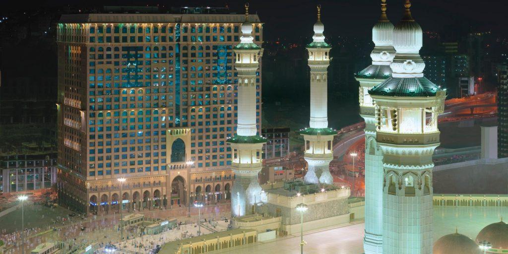 hotel terbaik di mekah hotel intercontinentel
