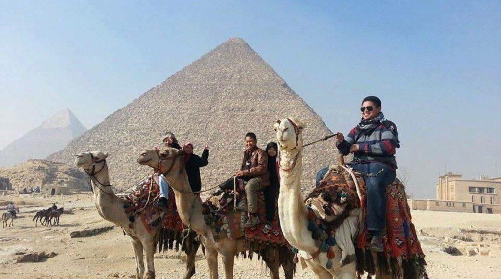 pakej cuti umrah mesir piramid